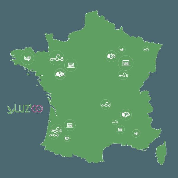 Carte des groupes